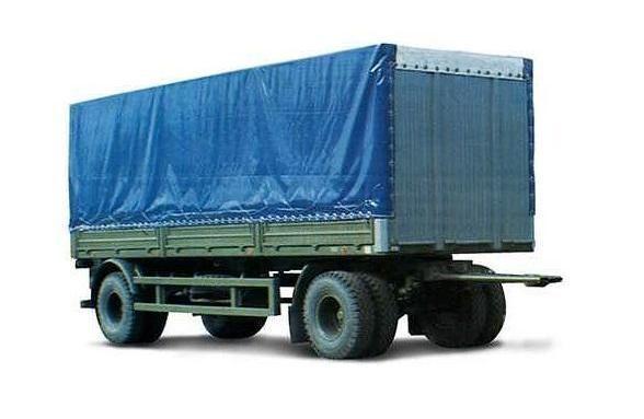 новый тентованный прицеп МАЗ 837810-014