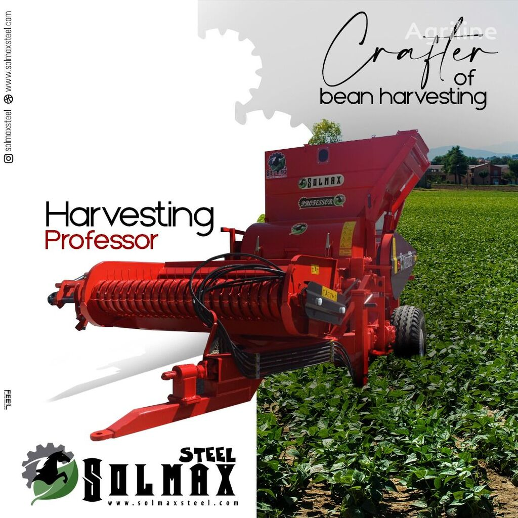 новый горохоуборочный комбайн SOLMAX STEEL PROFESSOR- BEAN HARVESTIN MACHINE