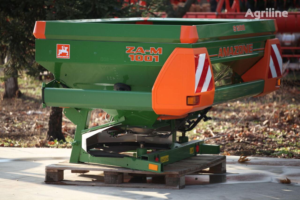 новый разбрасыватель удобрений AMAZONE ZA-M 1001