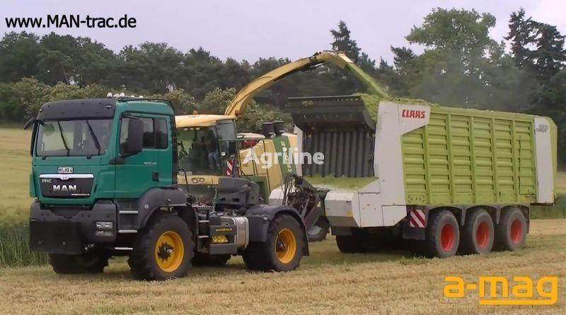 новый трактор колесный FENDT man-trac.de