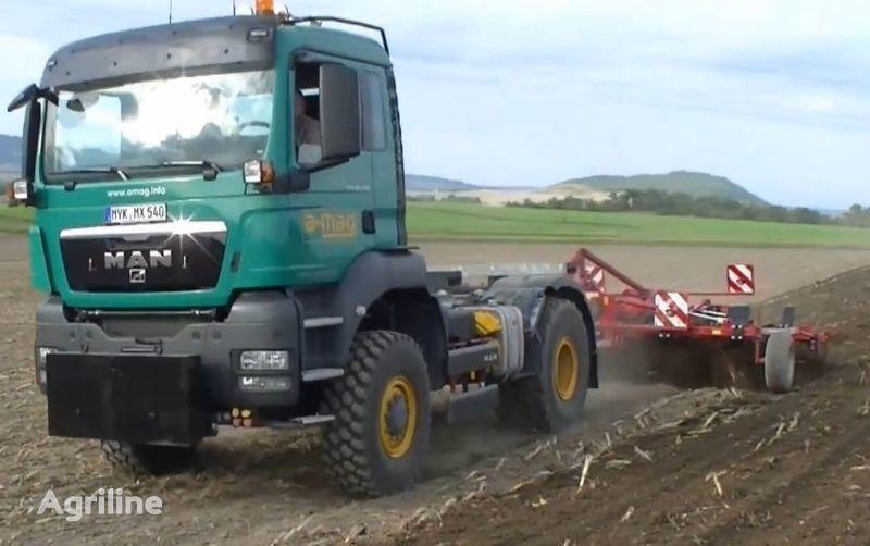 трактор колесный FENDT man-trac.ru