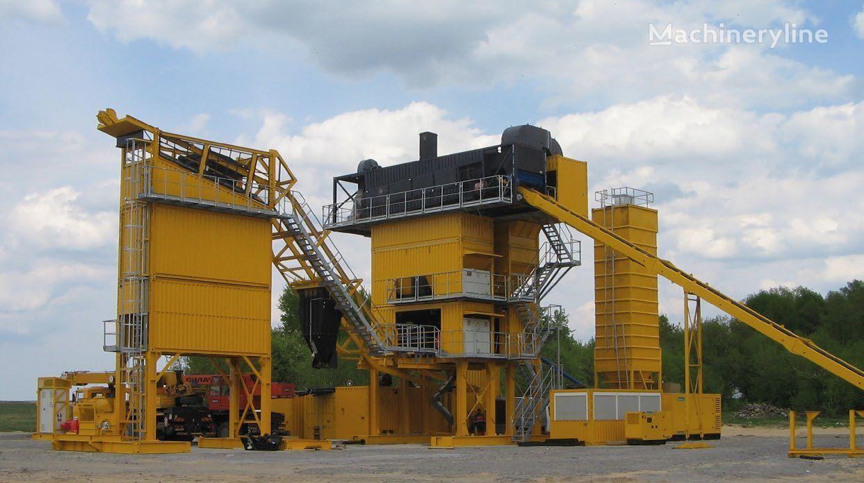 новый асфальтный завод LINTEC CSD 2500B MOBILE ASPHALT PLANT * 160 TO./H *