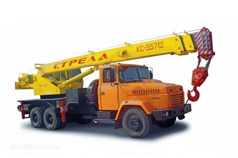 автокран КРАЗ 65053 (КC-55712) и КрАЗ-63221 (КC-55712)