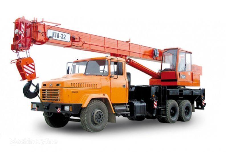 автокран КРАЗ 65053 (КТА-32)