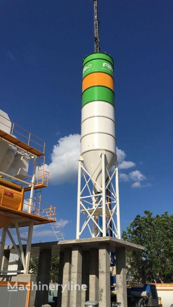 новый бетонный завод Fabo 100 TONS BOLTED SILO READY IN STOCK NOW BEST QUALITY, BEST MANUF