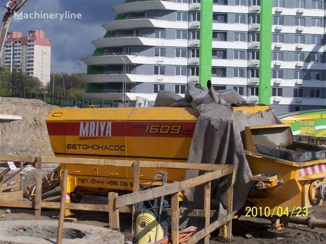 бетононасос стационарный MRIYA Стационарный бетононасос