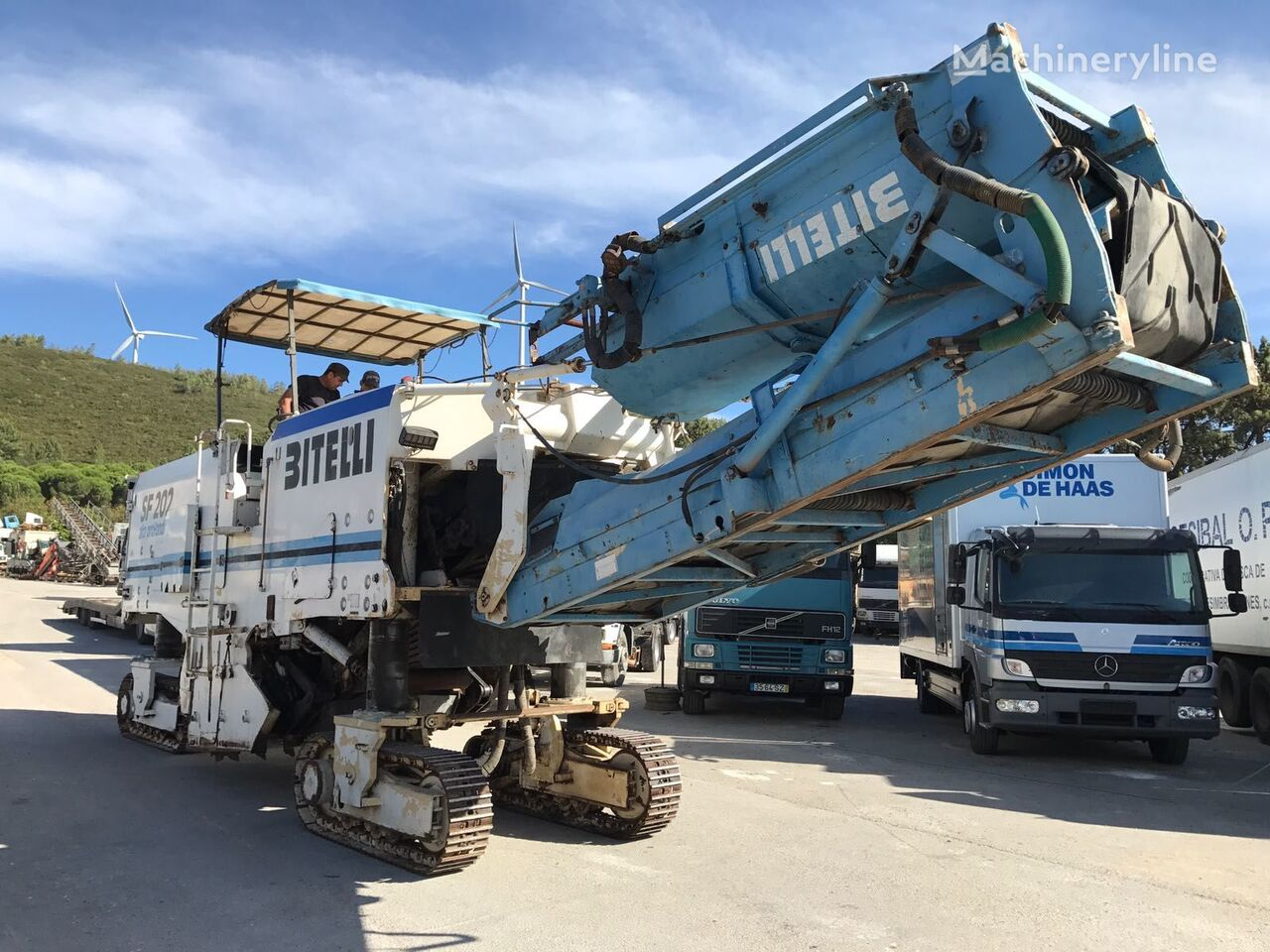 дорожная фреза BITELLI SF 202 R - COLD PLANNER / ROAD CUTTER / ASPHALT MILLING MACHINE