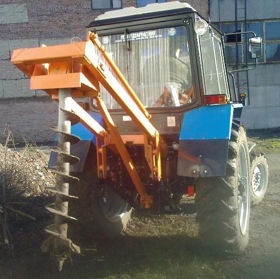 другая спецтехника Ямокопатель (ямобур) навесной марки БАМ 1,3 на базе трактора МТЗ