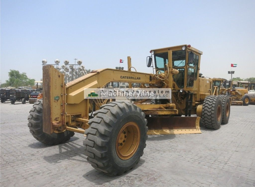грейдер CATERPILLAR 14G (ID: 13476)