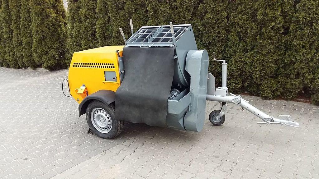 штукатурная машина PUTZMEISTER P-13 KA 139