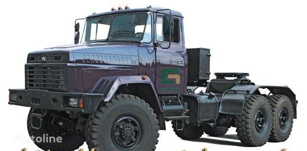 новый тягач КРАЗ 6140TE