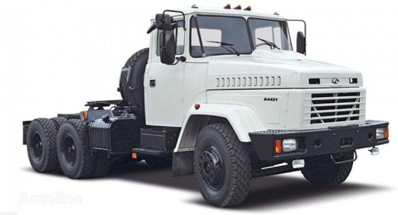 новый тягач КРАЗ 64431
