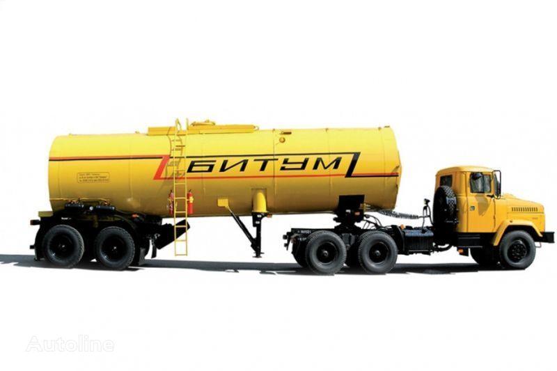 тягач КРАЗ Автобитумовозы 63431 АБ-22 и 6443 АБ-30,5 + цистерна