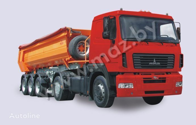новый тягач МАЗ 5440 A5