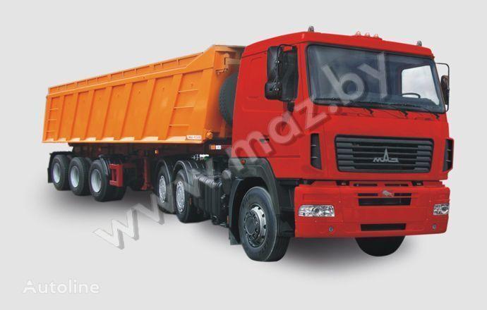 новый тягач МАЗ 6430 А8