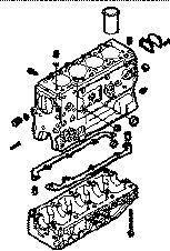 новый блок цилиндров IVECO BLOQUE DAILY 8140,43 N для микроавтобуса IVECO 35S15