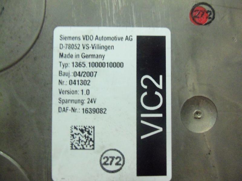 блок управления DAF VIC2 electronic control unit 1639082 для тягача DAF 105XF