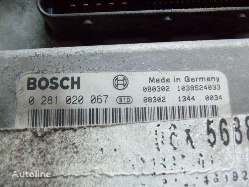блок управления MAN EDC 480PS D2676LF05 ECU BOSH 0281020067 EURO4, 51258037564, 5125 для тягача MAN TGX