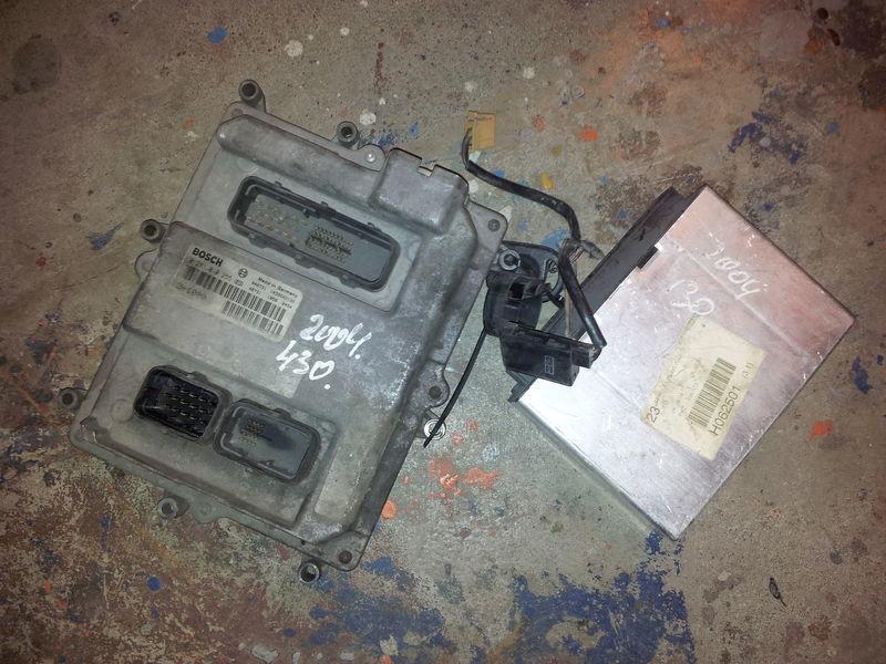 блок управления MAN EURO3, 430PS ignition set, EDC, ECU, BOSCH 0281010255 + FFR для тягача MAN TGA