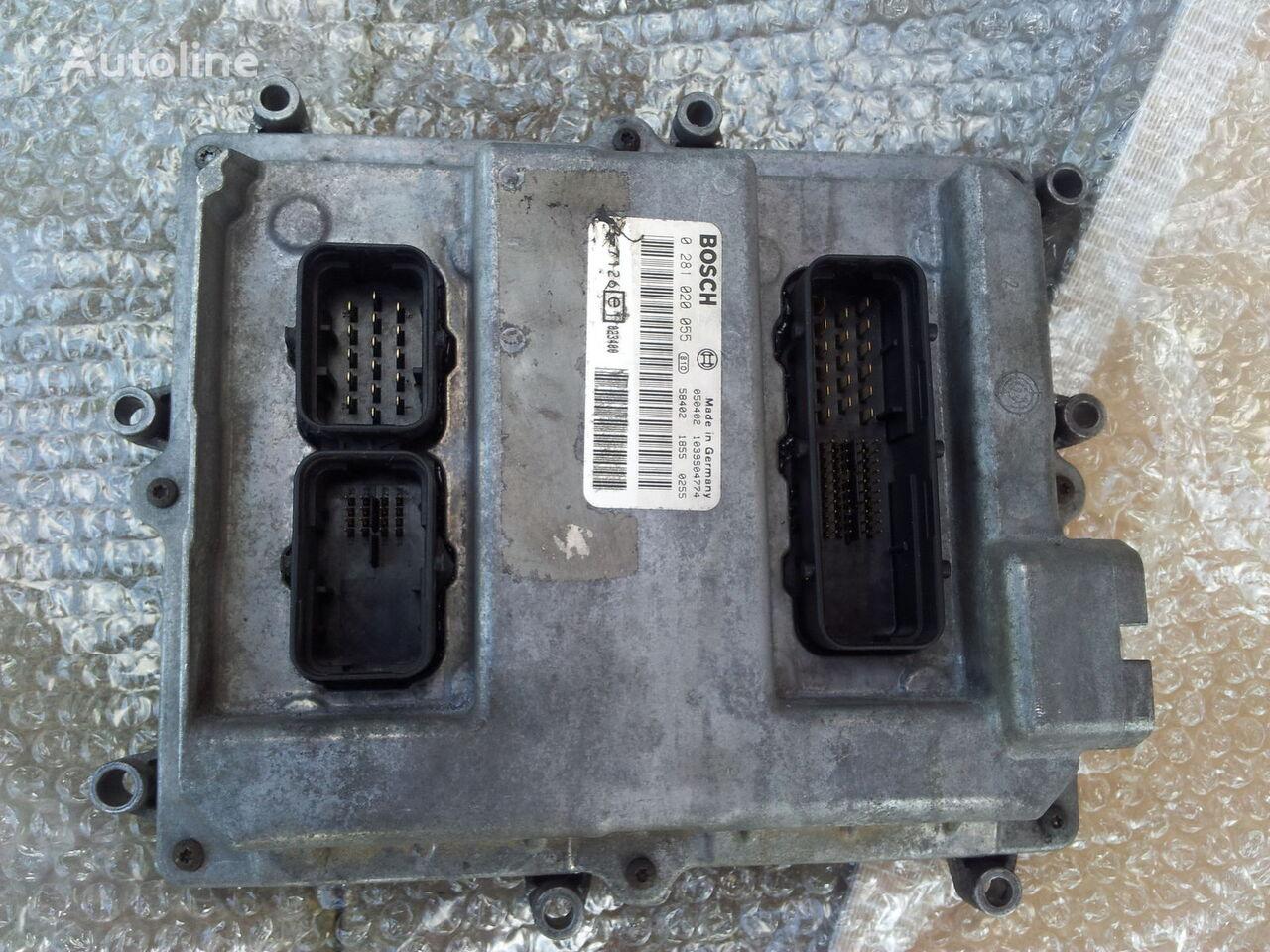 блок управления  MAN Common Rail EDC, ECU electronic diesel control 0281020055, D2066LF01, 51258037126, 51258337169, 51258037127, 51258337168 для тягача MAN TGA