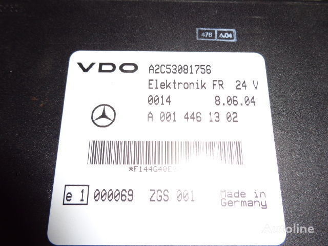 блок управления  Mercedes Benz Actros MP2, MP3, MP4, FR control unit ECU 0014461302, 0004465502, 0004466602, 0014461002, 0014461302, 0014461502, 0014461102, 0014464302, 0024460202, 0024463202, 0024461302, 0024462902, 0024463402, 0034463502, 0024463402, 0034463502 для тягача MERCEDES-BENZ Actros