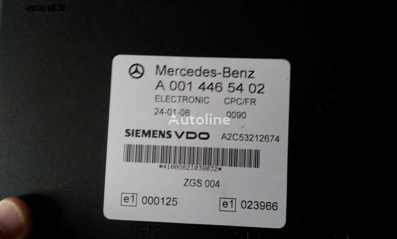 блок управления MERCEDES-BENZ MP2 FR unit ECU 0014464102, 0014464102, 0004467502, 0014461002, для тягача MERCEDES-BENZ Actros