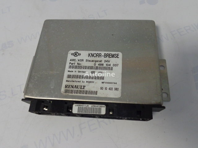 блок управления  KNORR-BREMSE ABS control units 0486104037, 5010422382, 0486104049, 5010493009 для тягача RENAULT