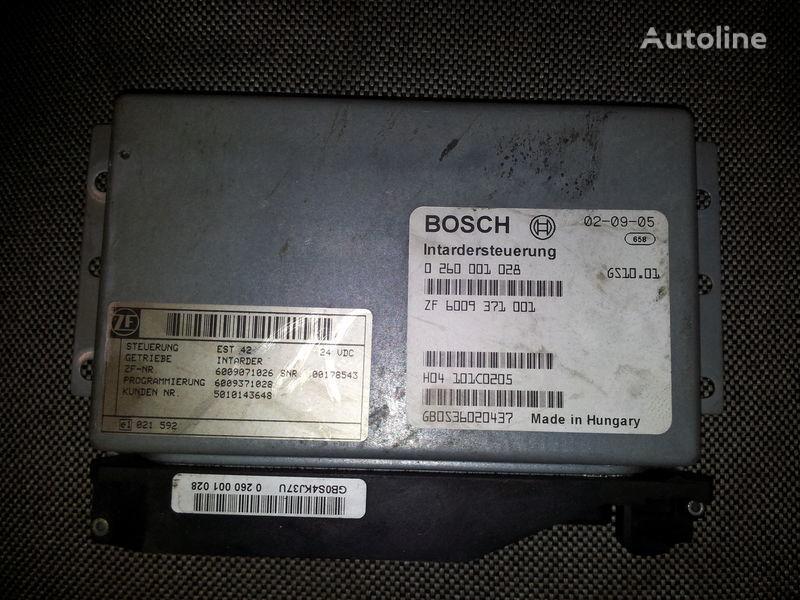 блок управления RENAULT intarder control unit, ECU, 0260001028 ZF 6009371001, 5010143648 для тягача RENAULT Magnum