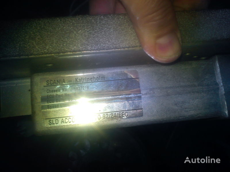 блок управления  двигателем Скания 1827218  0281001209 для грузовика SCANIA 903