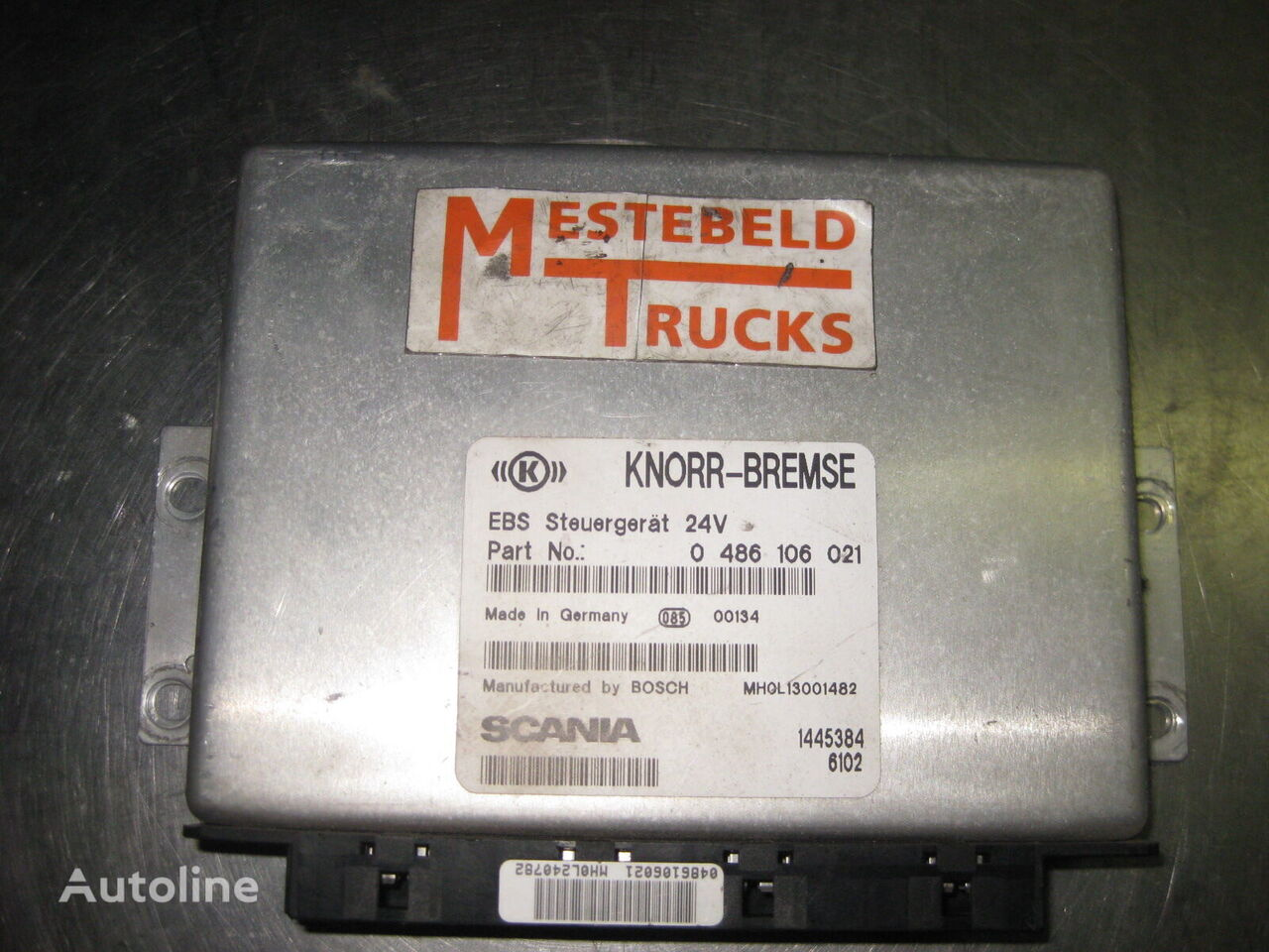 блок управления SCANIA EBS unit для грузовика SCANIA 124