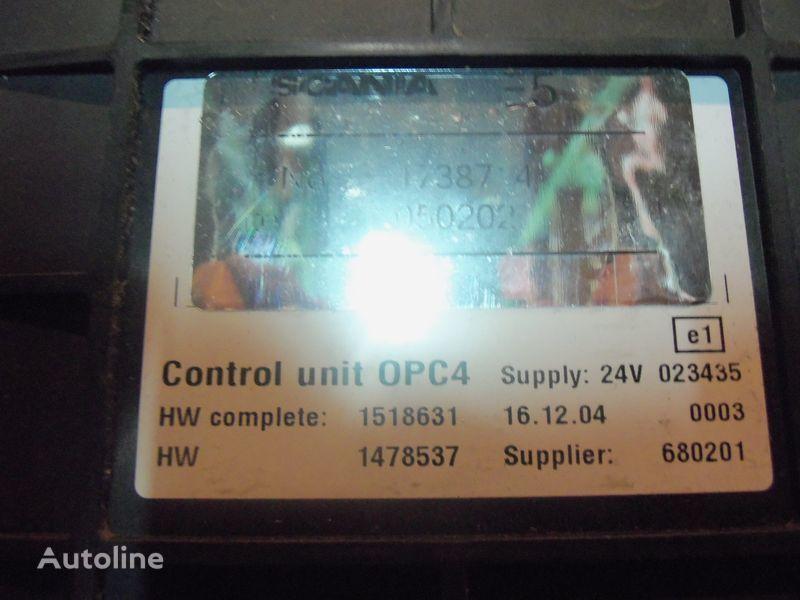 блок управления  Scania R series OPC4 Control unit 1731140, 1750167, 17514664, 1754669, 1754674, 1754679, 1754684, 1754689, 1754694, 1754699, 1754704, 1754709, 1754714, 1754719, 1754728, 1754733, 1754738, 1918182, 1928717, 1933486, 1933264, 1936924, 2095496, 2149043 для тягача SCANIA R series