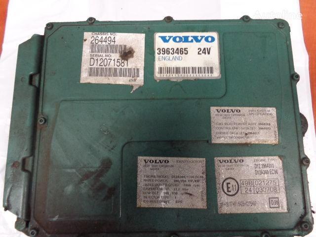 блок управления VOLVO engine control unit ECU, EDC, D12A340, 250KW, 340PS, 396346 для тягача VOLVO FH12