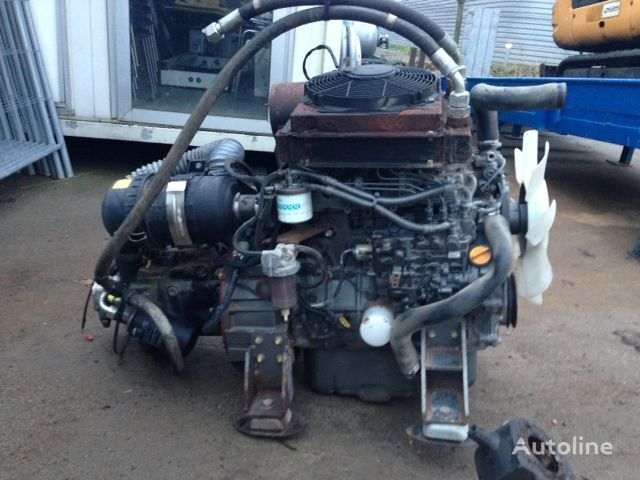 двигатель  Yanmar 4TNV98-N + LINDE HPV105-02 0000 для генератора