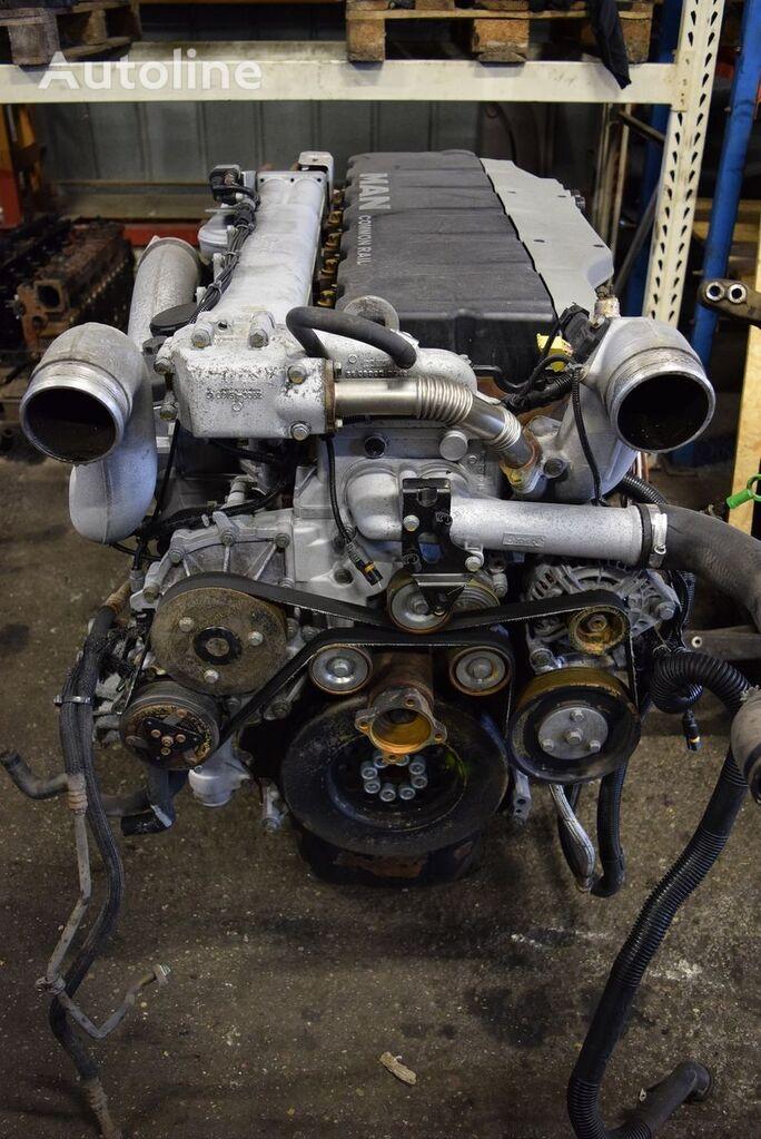 двигатель MAN d2066 для тягача MAN TGA