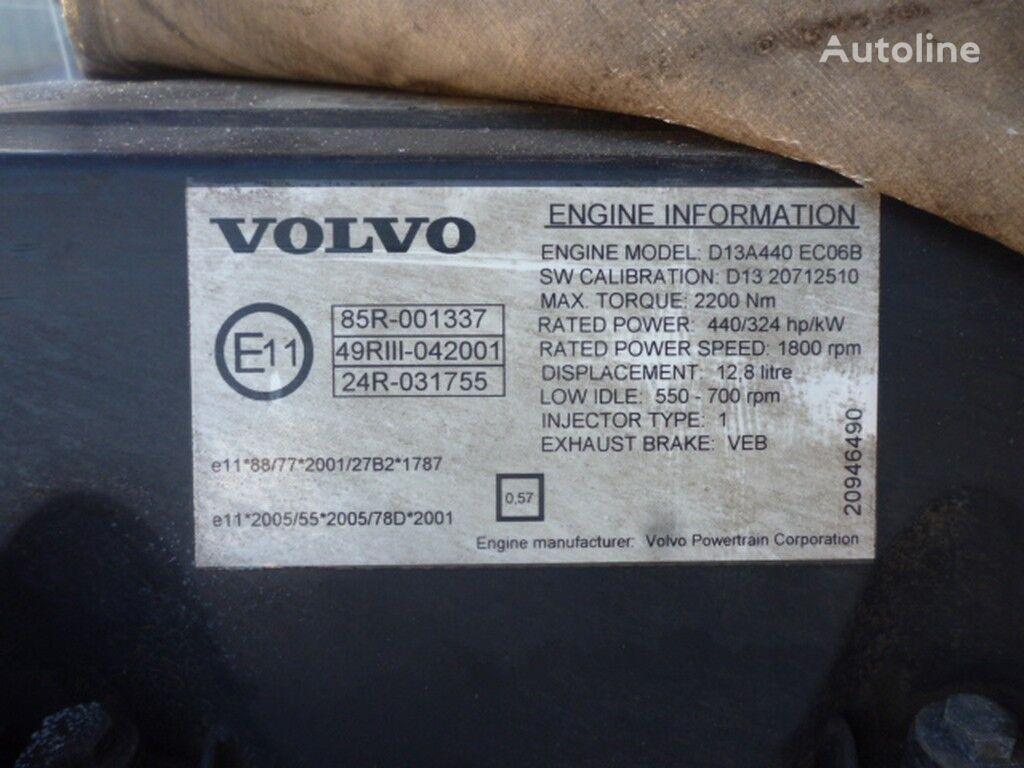 двигатель  Volvo D13A440 ECO6B для грузовика VOLVO