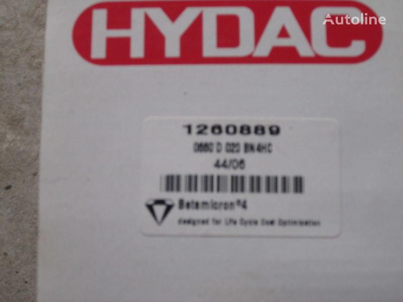 новый фильтр гидравлический Hydac 1260889 Німеччина для экскаватора