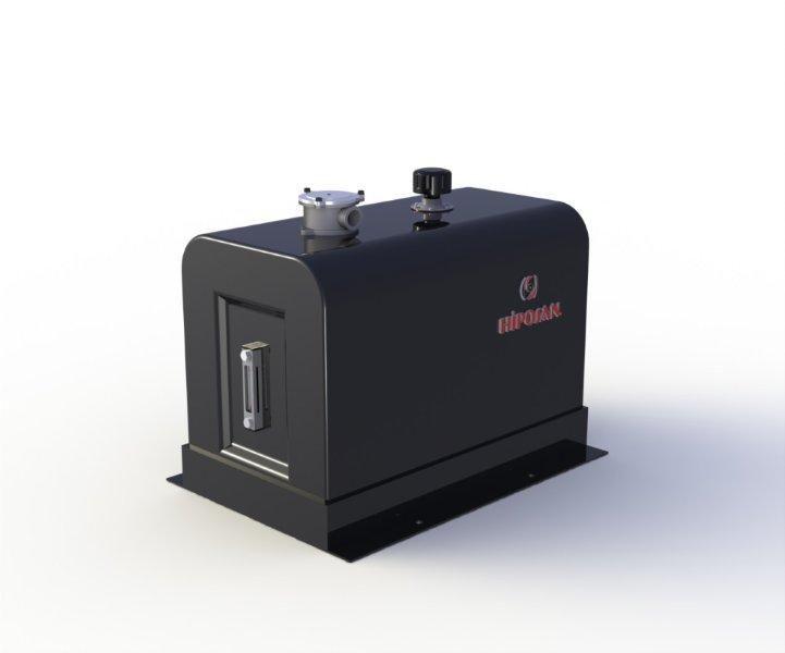 новый гидравлический бак закабинный 180 л железный для тягача