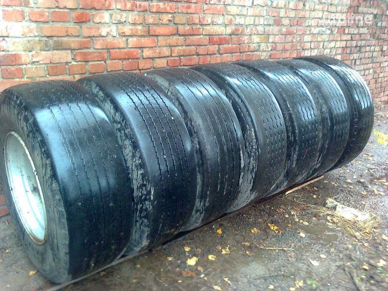 колесный диск для полуприцепа