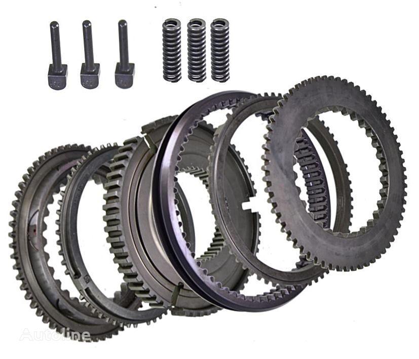 новая КПП ZF комплект синхронизаторов 16S181 16S221 16S251 1315298060 9553445 для грузовика