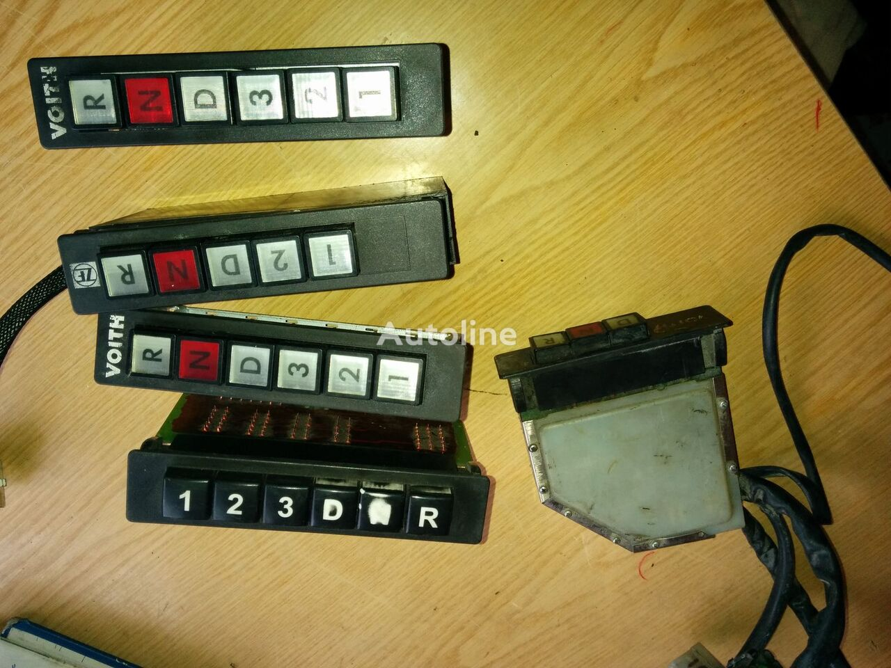 КПП ZF Контролер переключения передач 5HP500 для автобуса VOLVO