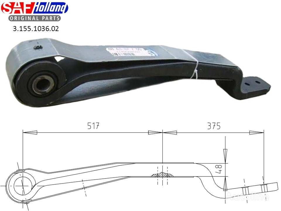 новая листовая рессора  SAF 3155103602,3155103601,F188Z035ZA75 для тягача SAF