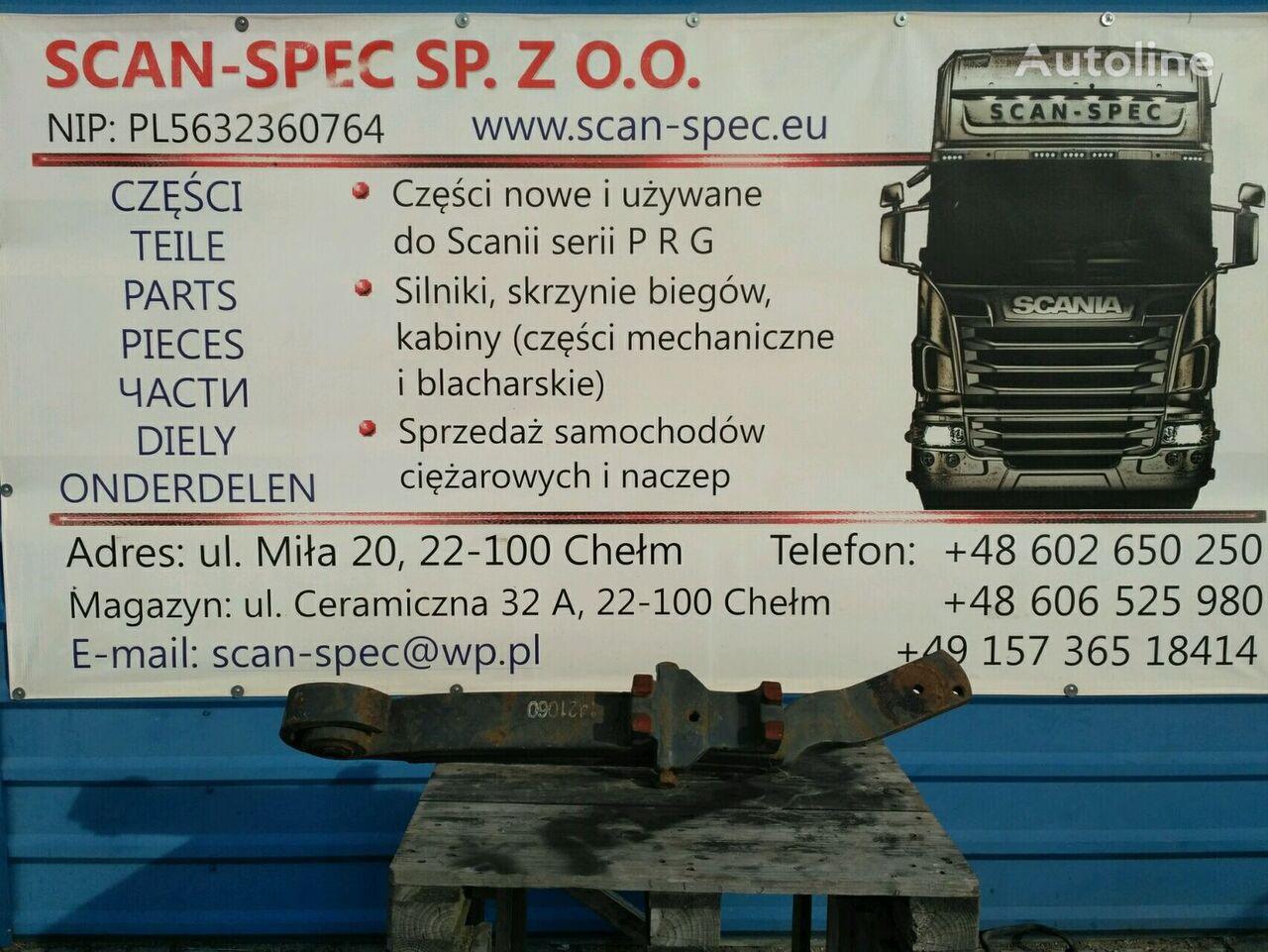 листовая рессора SCANIA 1421060 Lewa strona RH для тягача SCANIA SERIE 4 / R