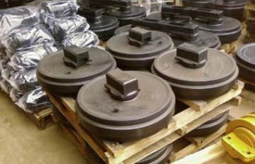 новое направляющее колесо KOMATSU D150A-1/D155A-1(S), D150A-1/D155A-1(D), D15 для экскаватора KOMATSU