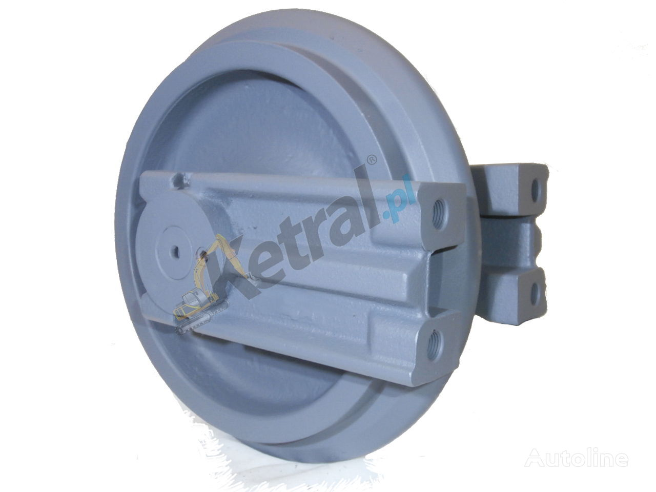 новое направляющее колесо KUBOTA OEM для мини-экскаватора KUBOTA KX41-3