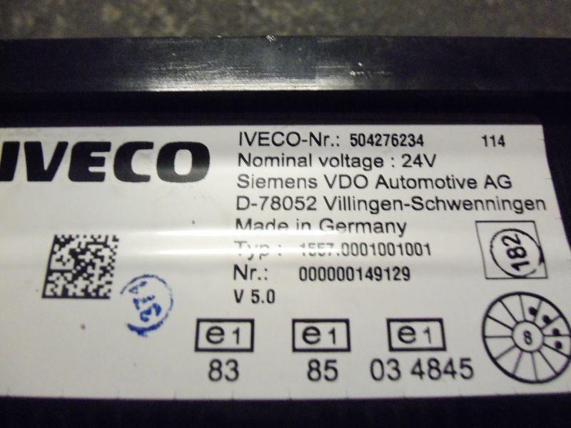 панель приборов  IVECO EURO5 instrument panel cluster 504276234, 504226363, 504025358, 504156164, 504156187 для тягача IVECO Stralis