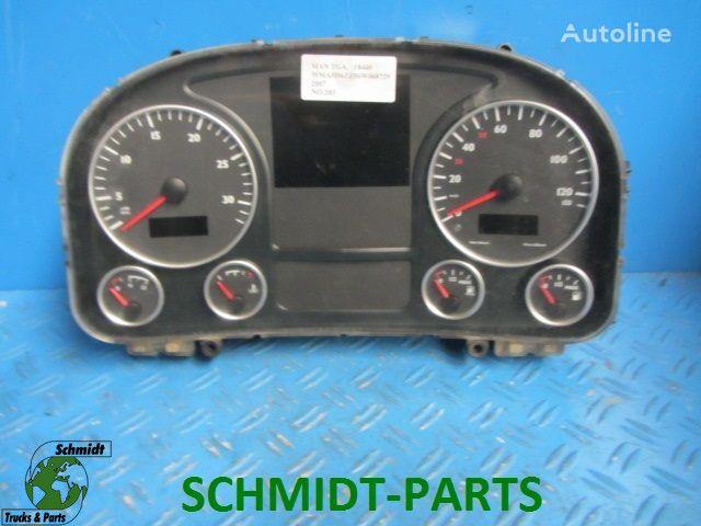 панель приборов  81.27202.6216 Instrumentenpaneel для грузовика MAN 81.27202.6216 Instrumentenpaneel