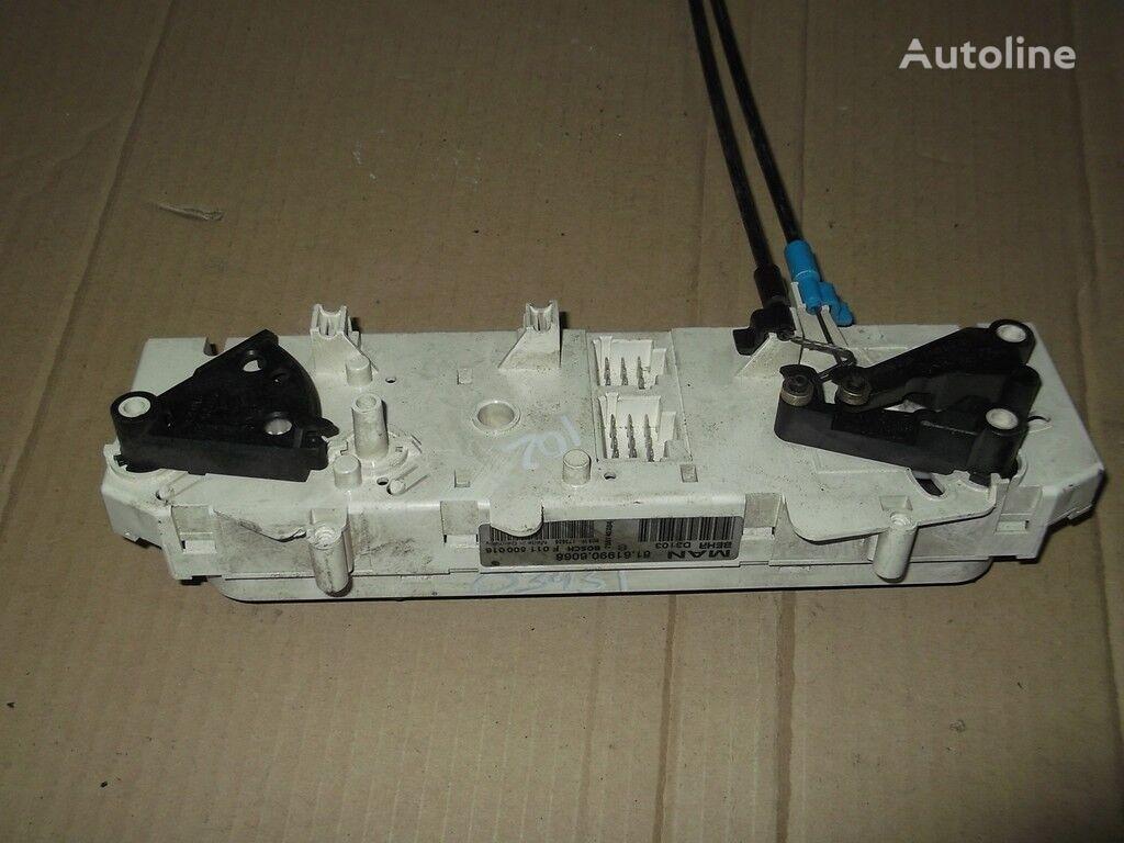 панель приборов MAN Блок управлением печкой и кондиционером для грузовика MAN