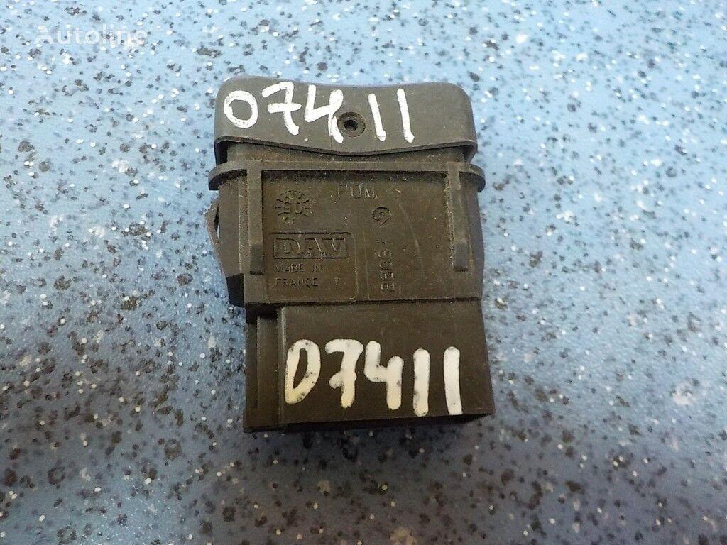 панель приборов MAN Клавиша включения рабочей фары для грузовика MAN