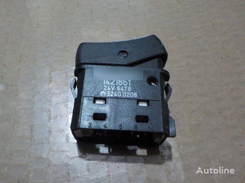 панель приборов Выключатель освещения Scania для грузовика