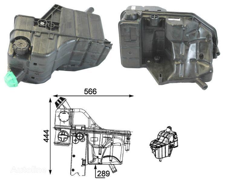 новый расширительный бачок MERCEDES-BENZ 0005003149.89100002004 BEHR HELLA для грузовика MERCEDES-BENZ ACTROS